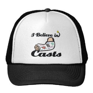 i believe in casts trucker hat