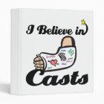 i believe in casts vinyl binders