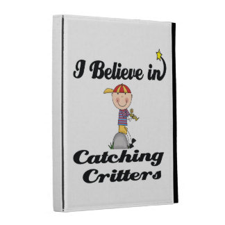 i believe in catching critters iPad case
