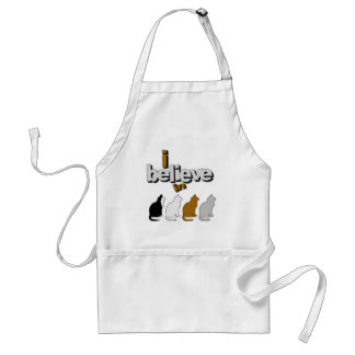 I believe in Cats 2 Adult Apron