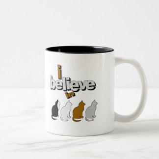 I believe in Cats 2 Mugs