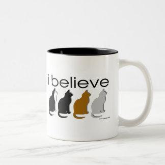I believe in Cats 3 Coffee Mug