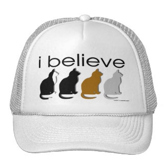 I believe in Cats 3 Trucker Hat