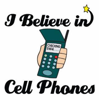 i believe in cell phones photo sculpture