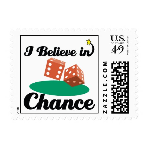 i believe in chance postage