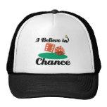 i believe in chance trucker hat