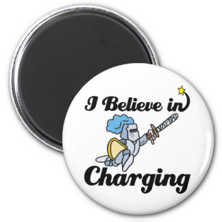 i believe in charging 2 inch round magnet
