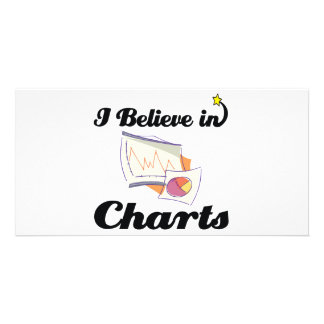 i believe in charts photo card