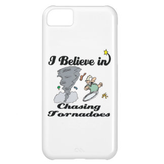 i believe in chasing tornadoes iPhone 5C case