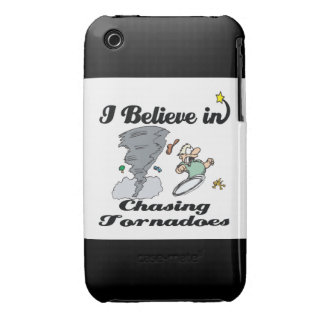 i believe in chasing tornadoes iPhone 3 Case-Mate case