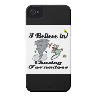 i believe in chasing tornadoes iPhone 4 covers