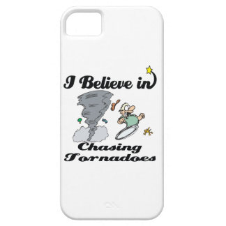 i believe in chasing tornadoes iPhone 5 covers