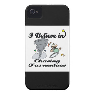 i believe in chasing tornadoes Case-Mate iPhone 4 case