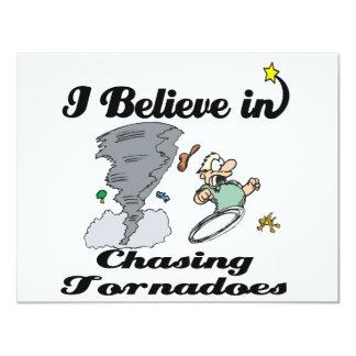 i believe in chasing tornadoes custom invite