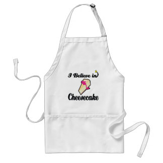 i believe in cheesecake apron