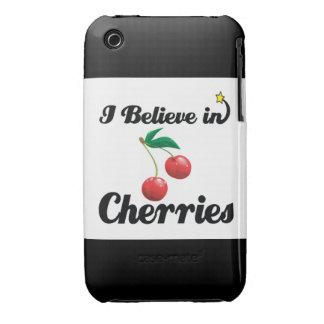 i believe in cherries iPhone 3 Case-Mate case