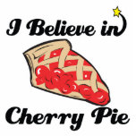 i believe in cherry pie acrylic cut out