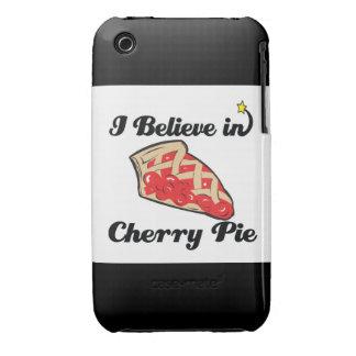 i believe in cherry pie iPhone 3 case