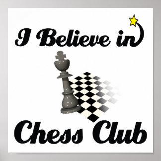 i believe in chess club print