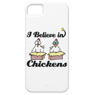i believe in chickens iPhone 5 cases