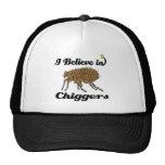 i believe in chiggers trucker hat