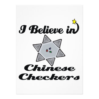 i believe in chinese checkers personalized invitation