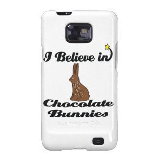 i believe in chocolate bunnies samsung galaxy s2 cases