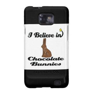 i believe in chocolate bunnies samsung galaxy SII case