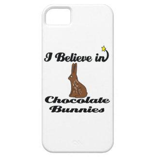 i believe in chocolate bunnies iPhone 5 cases