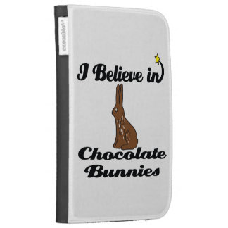 i believe in chocolate bunnies case for the kindle