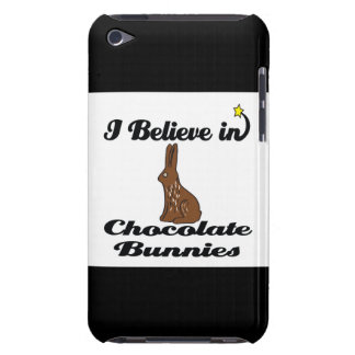 i believe in chocolate bunnies iPod Case-Mate case
