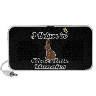 i believe in chocolate bunnies mp3 speakers