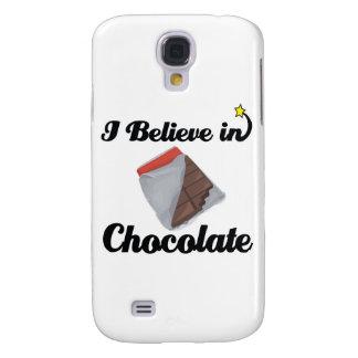 i believe in chocolate HTC vivid / raider 4G case