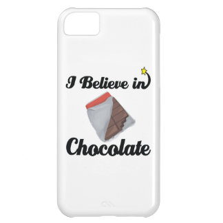i believe in chocolate case for iPhone 5C