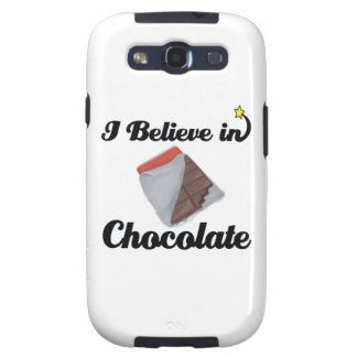 i believe in chocolate galaxy s3 case