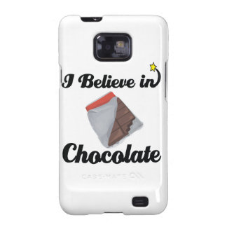 i believe in chocolate samsung galaxy s2 covers