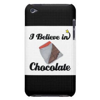 i believe in chocolate iPod Case-Mate case