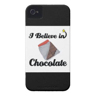 i believe in chocolate blackberry case