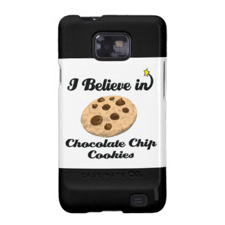 i believe in chocolate chip cookies galaxy s2 cases