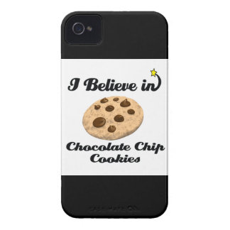 i believe in chocolate chip cookies iPhone 4 covers