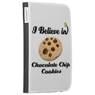 i believe in chocolate chip cookies cases for kindle