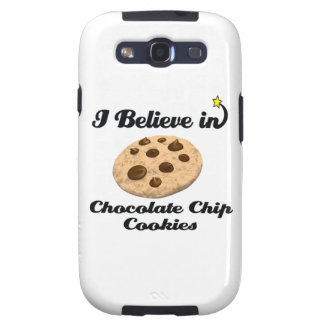 i believe in chocolate chip cookies galaxy SIII cases