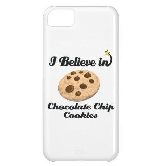 i believe in chocolate chip cookies case for iPhone 5C