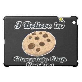 i believe in chocolate chip cookies iPad mini cases