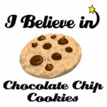 i believe in chocolate chip cookies photo sculpture