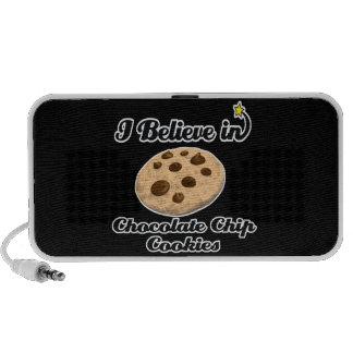 i believe in chocolate chip cookies portable speakers