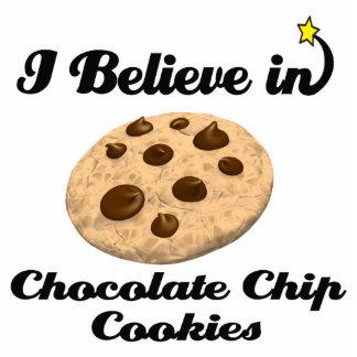 i believe in chocolate chip cookies standing photo sculpture
