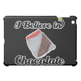 i believe in chocolate iPad mini cover