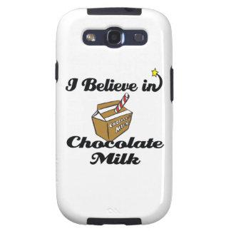 i believe in chocolate milk samsung galaxy s3 cover