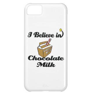 i believe in chocolate milk iPhone 5C case
